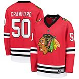Youth Fanatics Branded Corey Crawford Red Chicago Blackhawks Replica Player Jersey