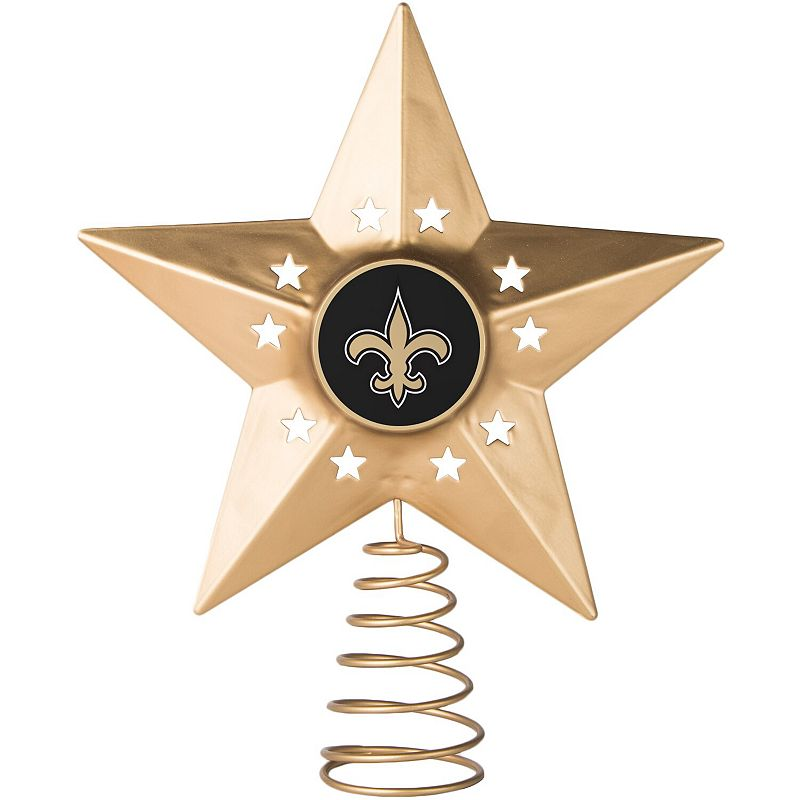 New Orleans Saints Gold Tree Topper, SNT Team