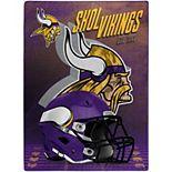 The Northwest Minnesota Vikings 60'' x 80'' State Pride Throw Blanket