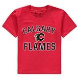 Toddler Fanatics Branded Red Calgary Flames Team Victory Arch T-Shirt