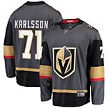Men's Fanatics Branded William Karlsson Gray Vegas Golden Knights Home Premier Breakaway Player Jersey