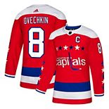 Men's adidas Alexander Ovechkin Red Washington Capitals Alternate Authentic Player Jersey