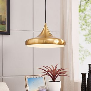 Southern Enterprises Merle Ball Pendant Lamp