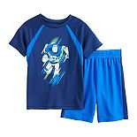 Disney / Pixar Toy Story Boys 4-12 Buzz Lightyear Active Tee & Shorts Set by Jumping Beans®