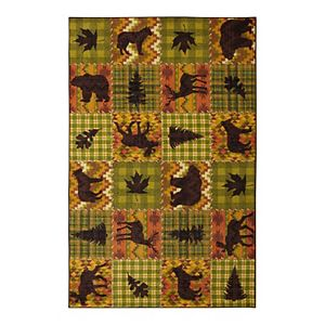 Mohawk Home Prismatic Woodland Lodge Multicolored 8'x10' Rug