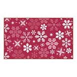Mohawk® Home Prismatic Snowflakes Rug