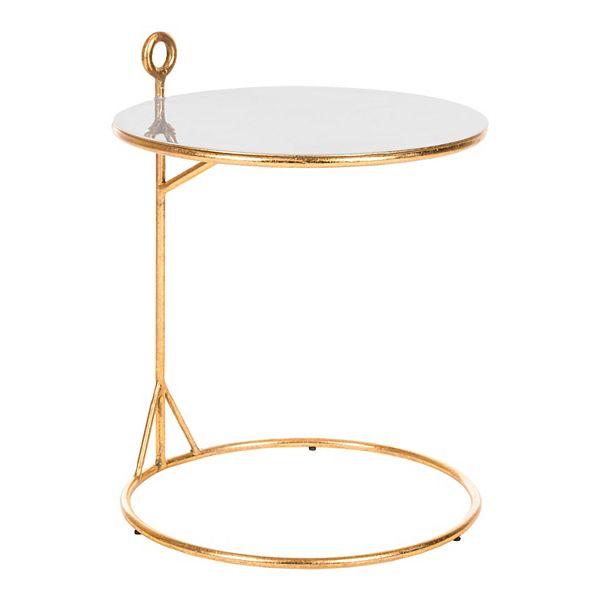 Safavieh Emirah Round C Table, Round C Table