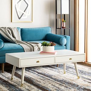 Safavieh Levinson 2-Drawer Coffee Table