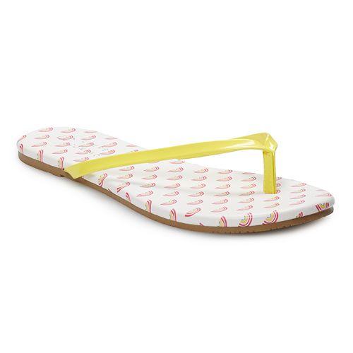LC Lauren Conrad Honey Women's Thong Flip Flops