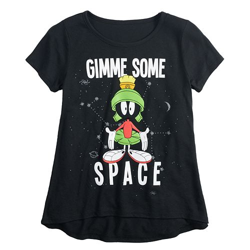 Girls 7-16 & Plus Size Looney Tunes Marvin the Martian Graphic Tee