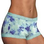 Maidenform One Fab Fit Microfiber Lace Trimmed Boyshort 40760