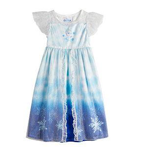 Disney's Frozen 2 Toddler Girl Elsa Night Gown