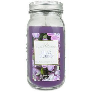 Candle Essentials Lilac Blooms 16-oz. Mason Jar Candle