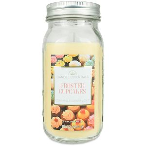 Candle Essentials Frosted Cupcakes 16-oz. Mason Jar Candle