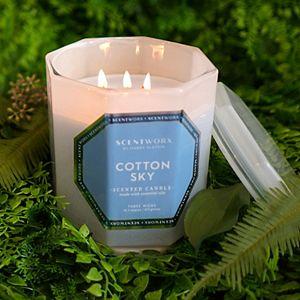 ScentWorx by Harry Slatkin Cotton Sky 14.5-oz. Candle Jar