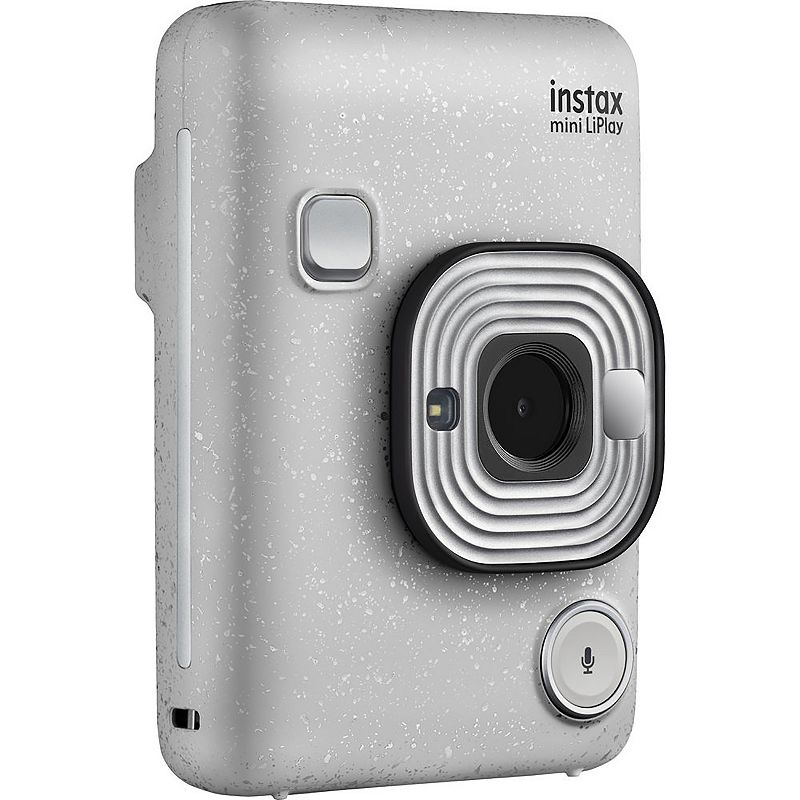 Fujifilm Instax Mini LiPlay Hybrid Instant Camera, White
