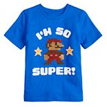 "Boys 4-12 SONOMA Goods for Life® Flip Sequins Mario Bros. ""I'm So Super!"" Tee"