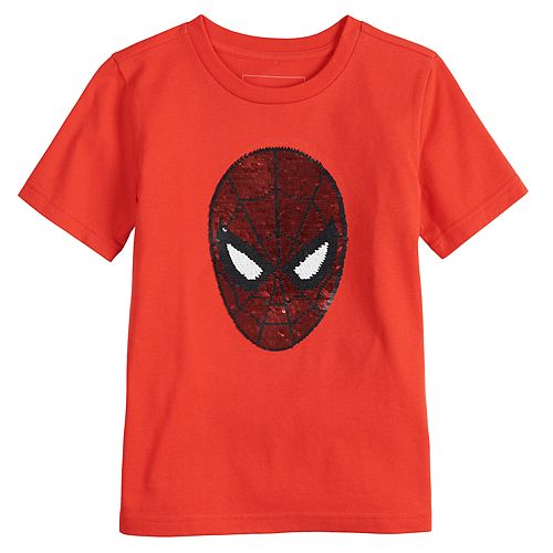 Boys 4-12 SONOMA Goods for Life® Flip Sequins Marvel Spider-Man Tee