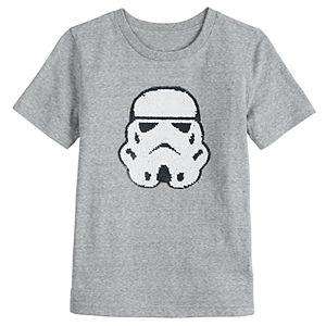 Boys 4-12 SONOMA Goods for Life Flip Sequins Star Wars Stormtrooper Tee