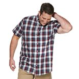 Big & Tall Sonoma Goods For Life® Poplin Button-Down Shirt