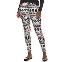 Apt. 9 Soft Holiday Leggings Womens Deals