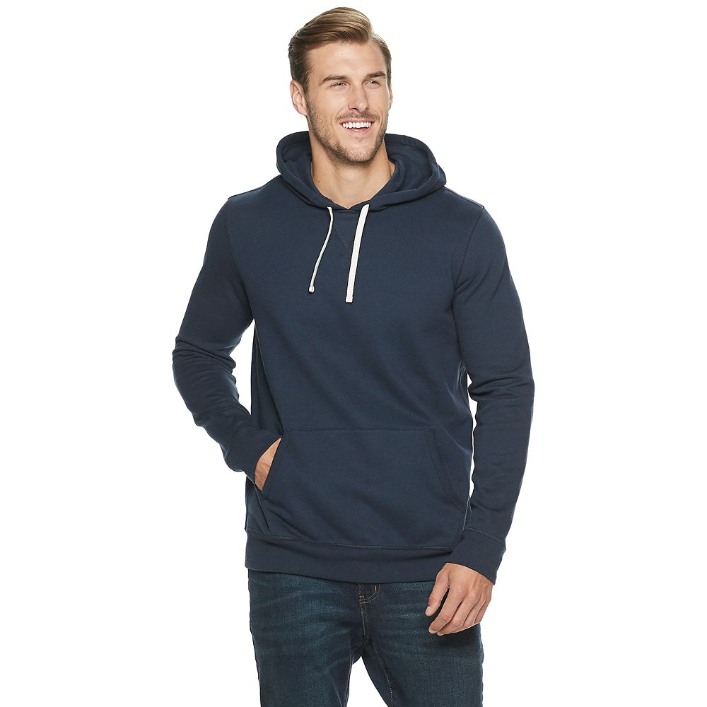 Big & Tall SONOMA Goods for Life® Fleece Popover Hoodie