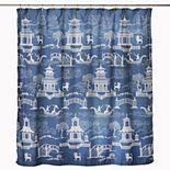 Saturday Knight, Home Chinoiserie Shower Curtain