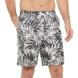 Men's Croft & Barrow® Printed Fashion Swim Trunks