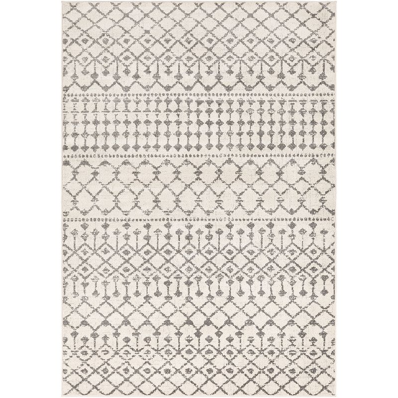 Decor 140 Nanette Rug, Beig/Green, 6.5X9 Ft