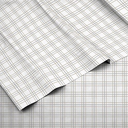 IZOD Double Plaid Sheet Set