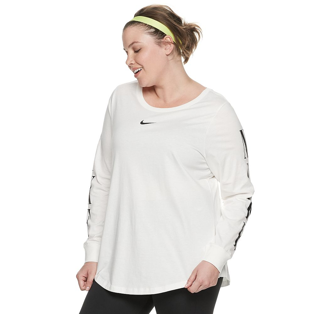 Plus Size Nike Long Sleeve Top