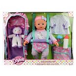 "Dream Collection 16"" Baby Doll Travelling Set - Blue"