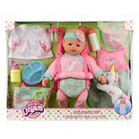 "Dream Collection 16"" Baby Doll Travelling Set - Pink"