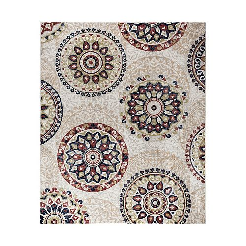 Vcny Home Suzanne Medallion Area Rug