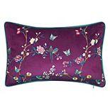 Edie@Home Bird & Butterfly Decorative Pillow
