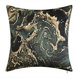 Edie@Home Malachite Decorative Pillow