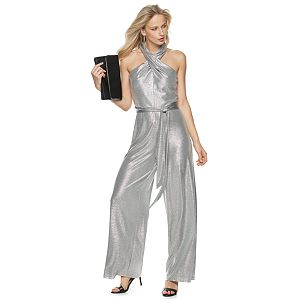 Women's Jennifer Lopez Cross Front Jumpsuit