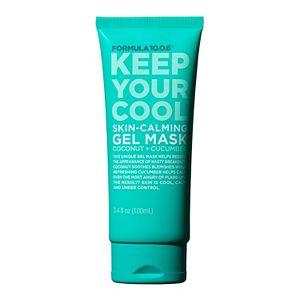 FORMULA 10.0.6. Keep Your Cool Coconut + Cucumber Skin-Calming Gel Mask