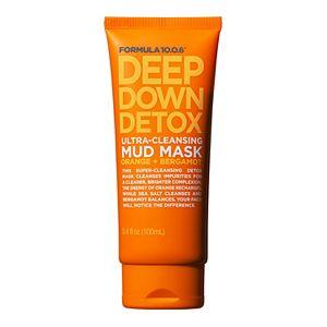FORMULA 10.0.6. Deep Down Detox Orange + Bergamot Ultra-Cleansing Mud Mask