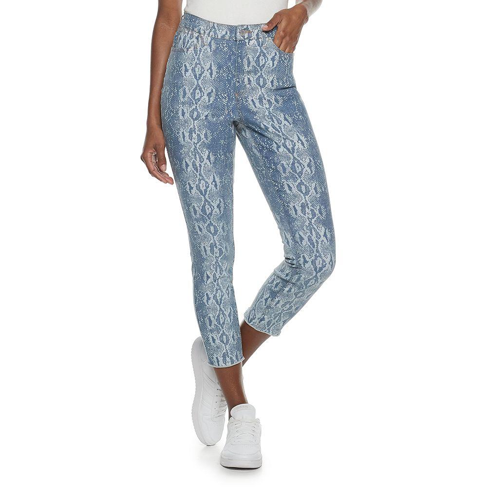 Women's Jennifer Lopez Curvy High Rise Crop Jean
