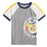 Boys 4-12 SONOMA Goods for Life® Star Wars BB8 Droid Retro Raglan Graphic Tee