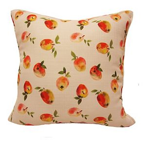 HFI Painted Apples Print Pillow