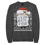 Men's Despicable Me Minions I'll Be Good Next Year Sweatshirt