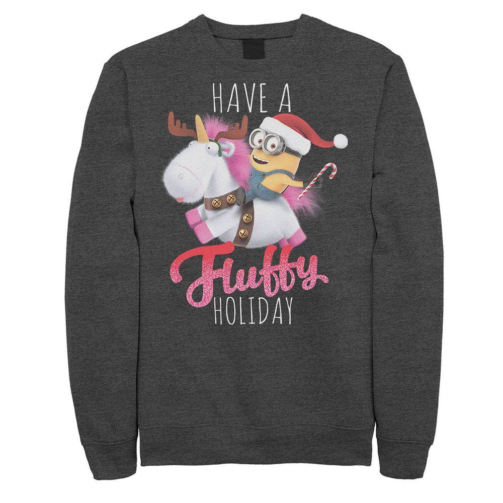 Men's Despicable Me Minions A Fluffy Christmas Sweatshirt