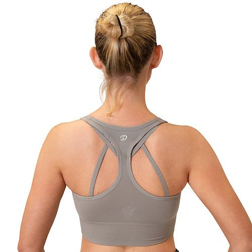 Women's Spalding Seamless Helix Strappy Sports Bra