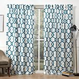 Exclusive Home 2-pack Kochi Linen Blend Hidden Tab Top Window Curtains