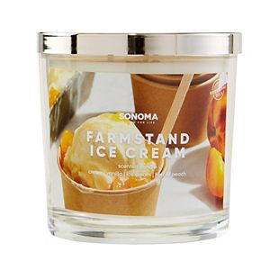 SONOMA Goods for Life® Farmstand Ice Cream 14-oz. Candle Jar