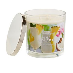 SONOMA Goods for Life® Pina Colada 14-oz. Candle Jar