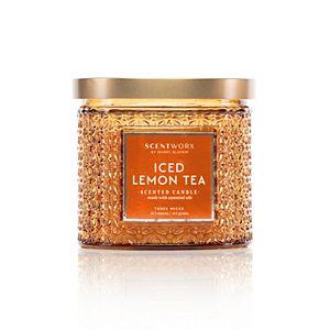 ScentWorx by Harry Slatkin Iced Lemon Tea 14.5-oz. Special Edition Candle Jar
