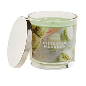SONOMA Goods for Life® Pistachio Macaron 14-oz. Candle Jar